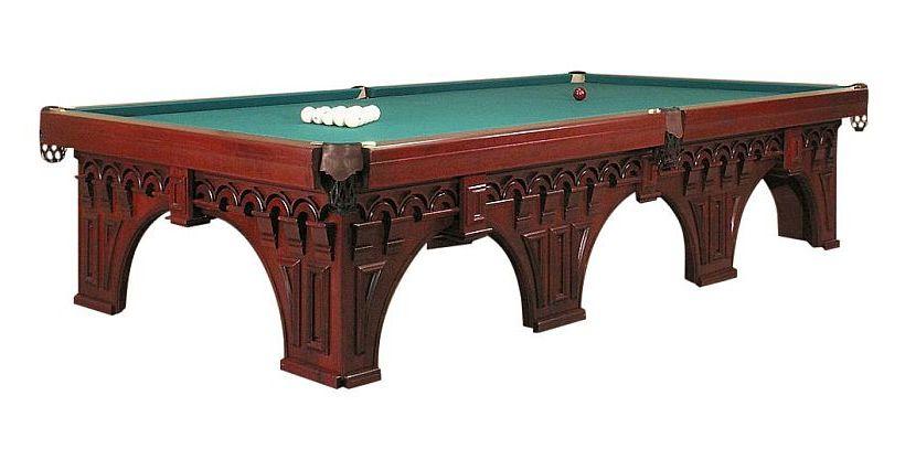 Der Snooker Billardtisch