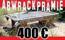 400 Euro für Ihren alten Billardtisch