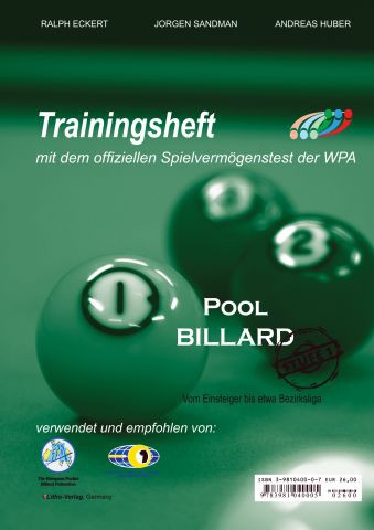 PAT Poolbillard Trainingsheft 1
