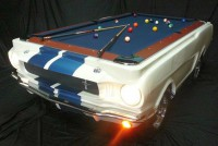 Poolbillard 8ft Shelby GT350