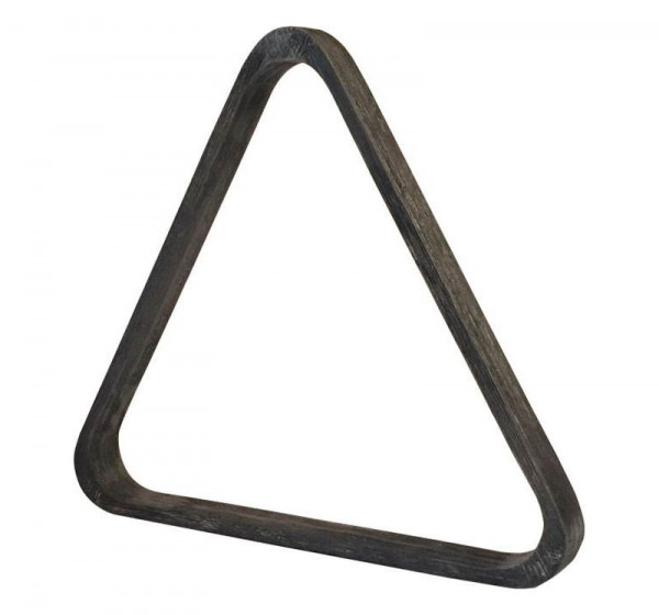 Poolbillard Dreieck natur grau