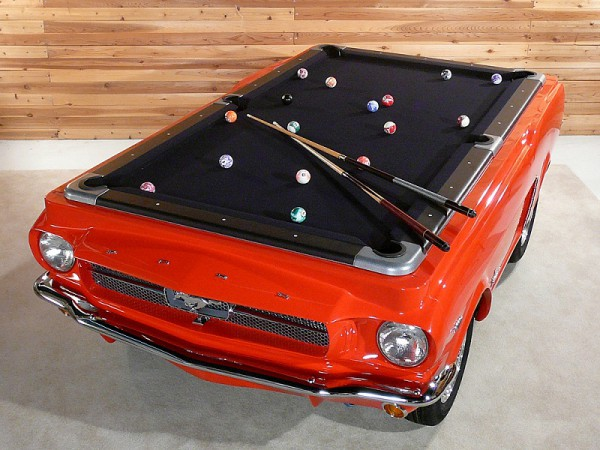 Poolbillard 8ft Ford Mustang 1965 mesa billar