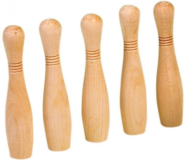 Kegelset (5er) für Kegelbillard