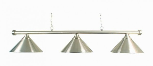 Billardlampe Franklin Brushed Chrome