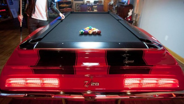 Poolbillard 8ft Camaro 1969 mesa billar