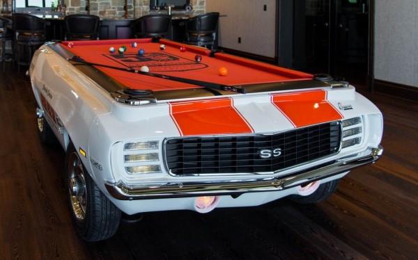 1969er Camaro Billardtisch