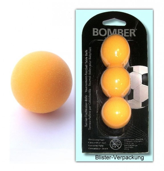 Kickerball Bomber 3er-Set orange