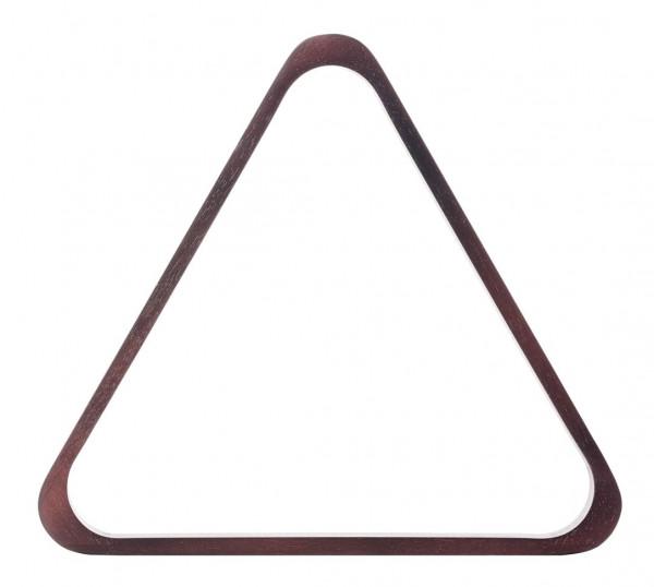 Poolbillard Dreieck mahagoni