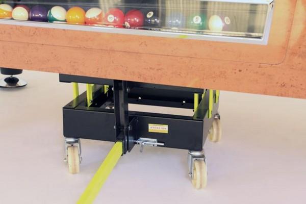Hubwagen (Trolley) für Billardtisch / Airhockey