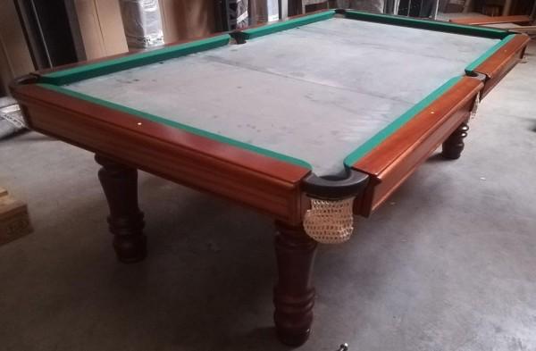 Snookertisch Modell Porto 8 Fuß braun