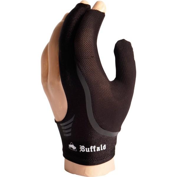 Billardhandschuh schwarz Medium