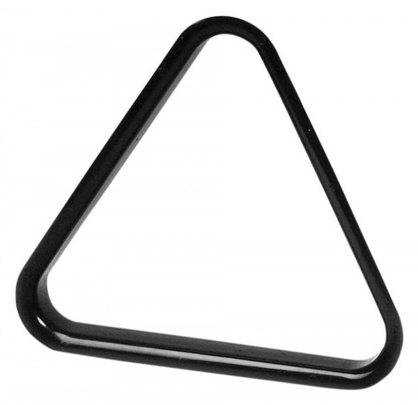 Poolbillard Dreieck Kunststoff schwarz