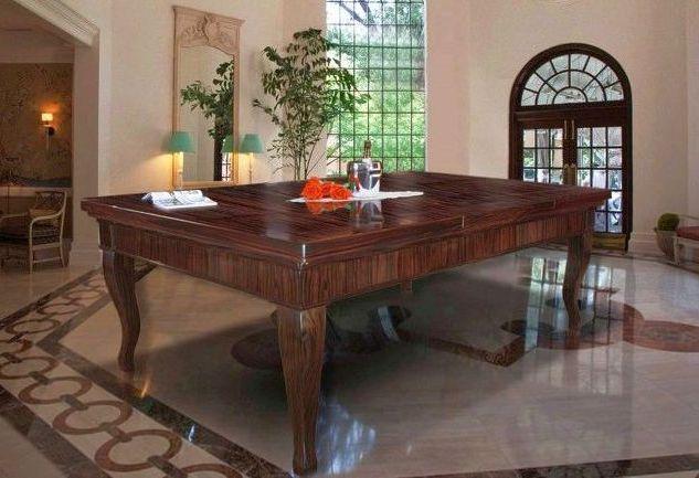 billardtisch als esstisch und der aufbau billardtisch busch. Black Bedroom Furniture Sets. Home Design Ideas