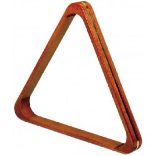 Poolbillard-Dreieck Holz Messing (Jugendeinrichtung)