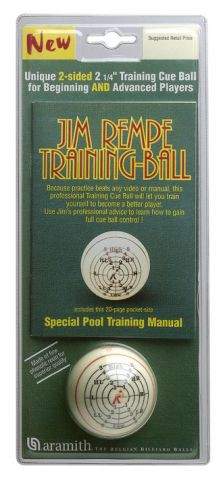 Jim Rempe Trainingsball Poolbillard