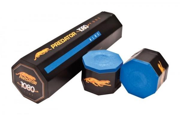 Billardkreide Predator 1080, 5-er Box, blau