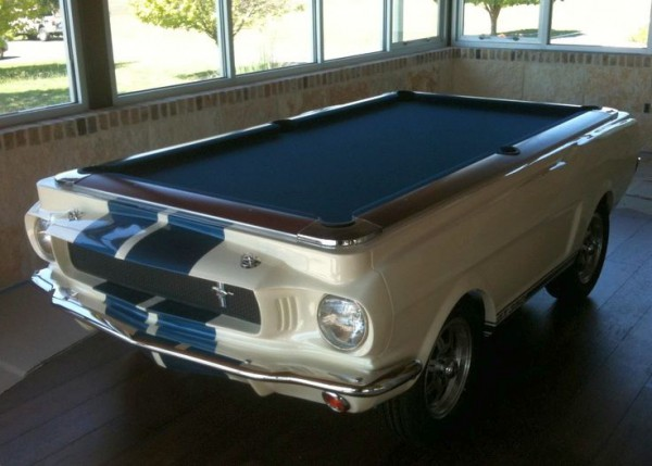 Poolbillard 8ft Shelby GT350 mesa billar